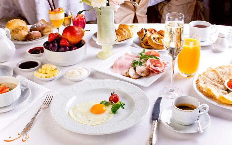 هتل متروپل مسکو | صبحانه