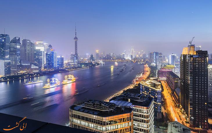 کنارگذر دی باند در شانگهای