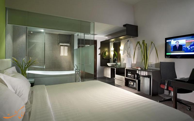 هتل فوراما ریور فرونت سنگاپور | نمونه اتاق