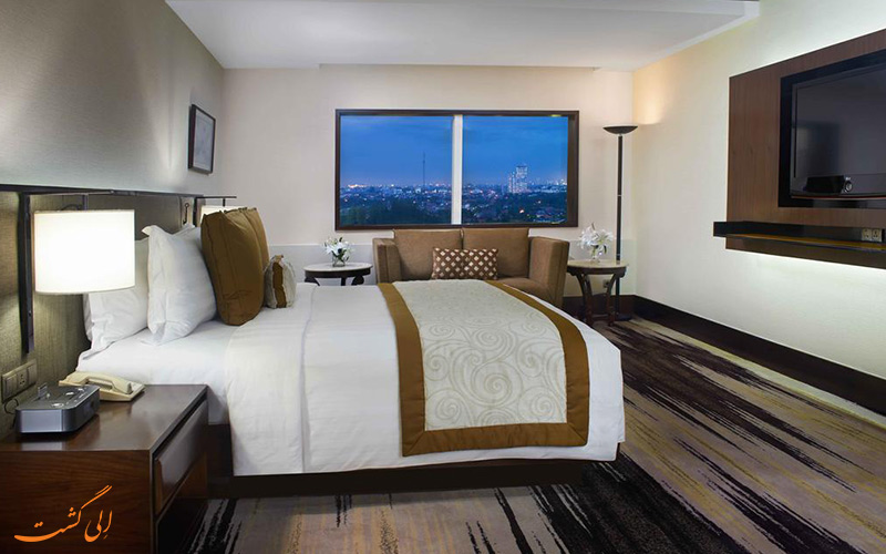 هتل گرن ملیا جاکارتا   نمونه اتاق