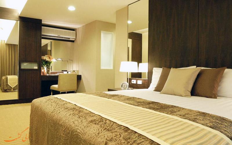 هتل اچ رزیدنس بانکوک   اتاق دبل