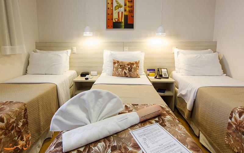 هتل بست وسترن تاروبا | اتاق تریپل