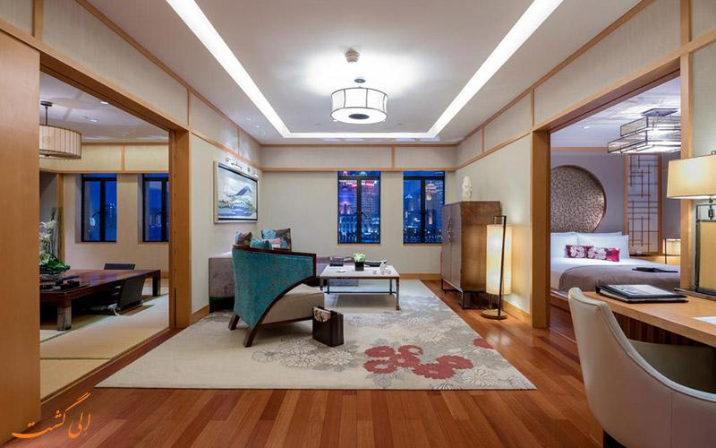 هتل فرمونت پیس شانگهای | سوئیت