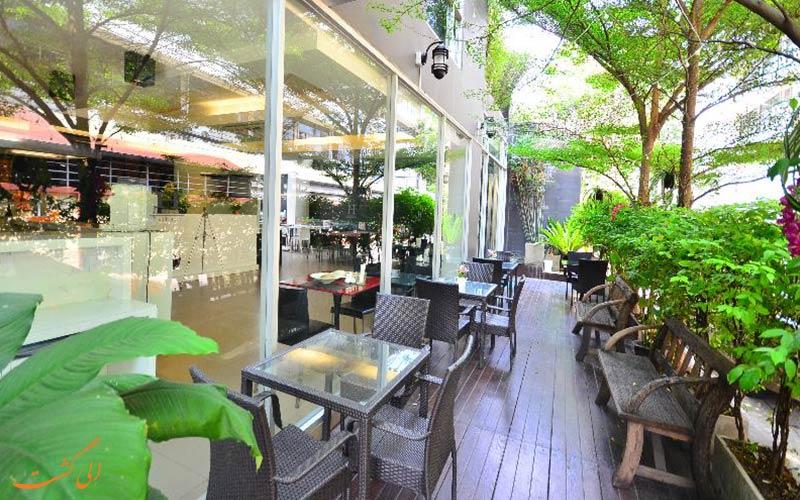 هتل اچ رزیدنس بانکوک   رستوران