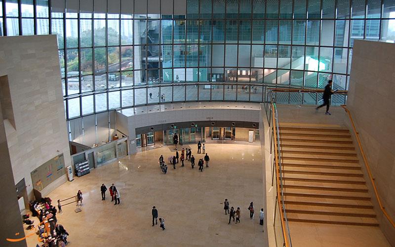 بخشی از موزه ملی کره