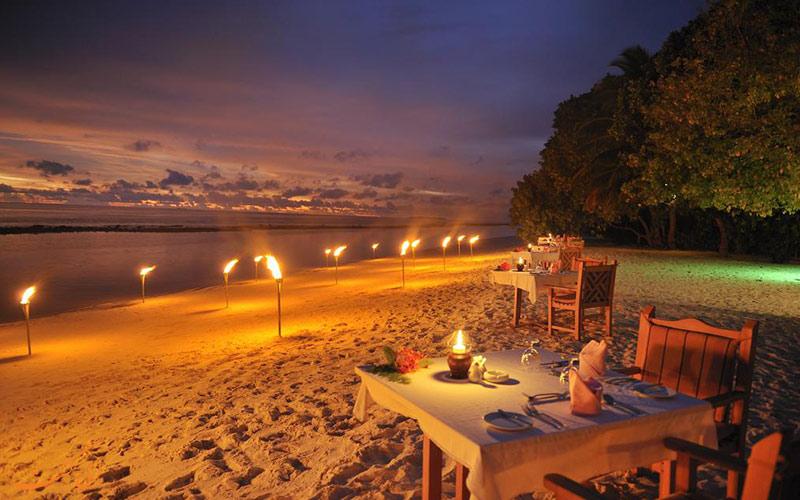 هتل رویال آیلند مالدیو | رستوران