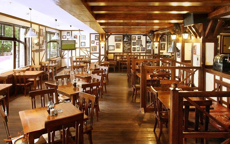 رستوران هتل کورت یارد سیتی سنتر مسکو مسکو