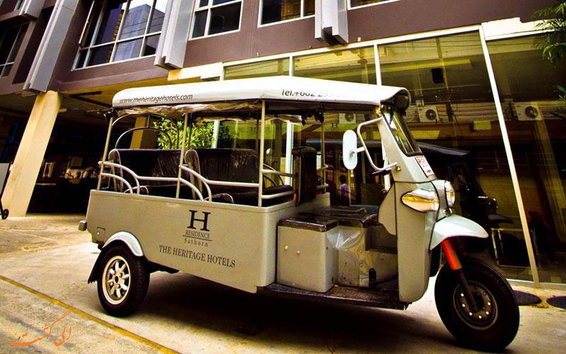 هتل اچ رزیدنس بانکوک   حمل و نقل شری