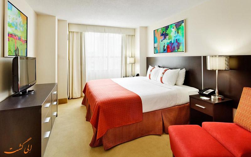 هتل هالیدی این تورنتو | اتاق دبل