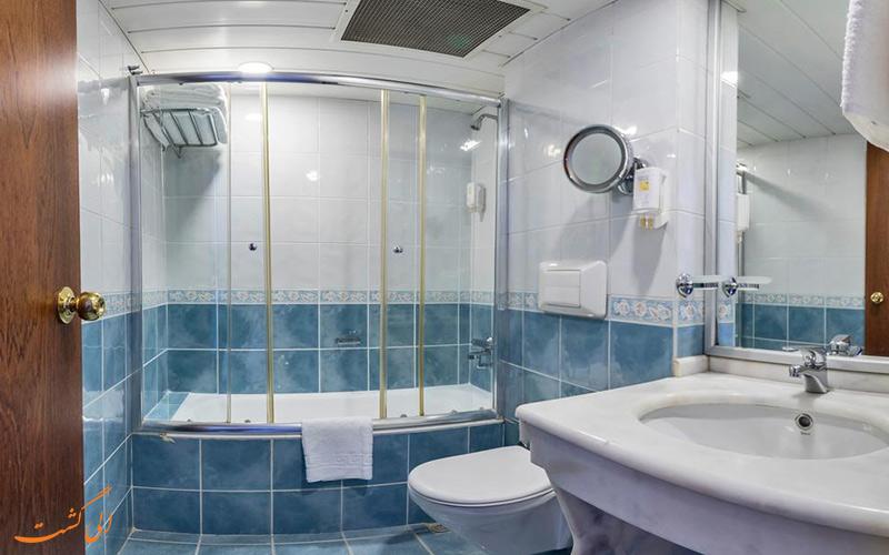 هتل لیون استانبول | سرویس حمام