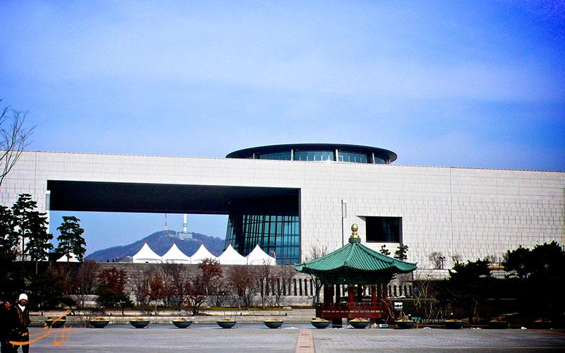 نمای موزه ملی کره