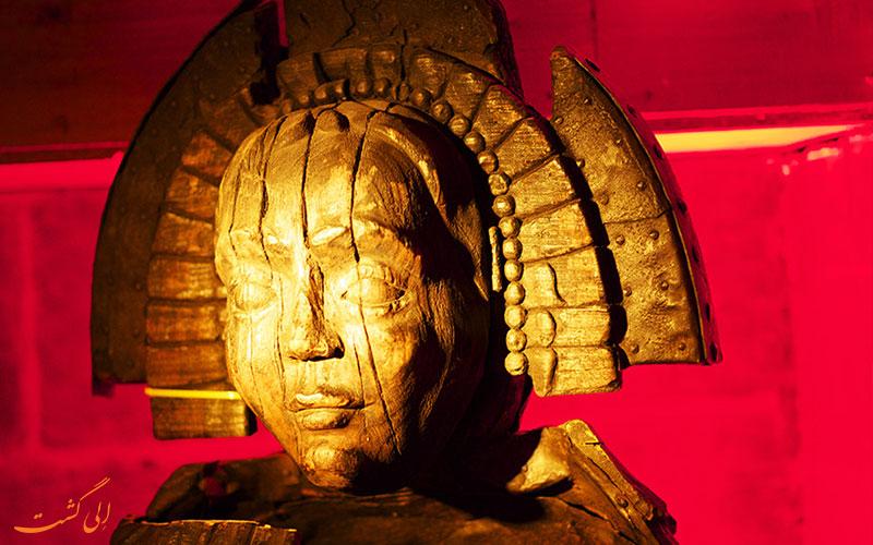 مجسمه ای در موزه شکنجه آمستردام