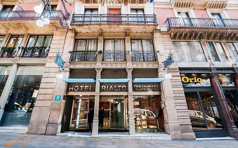 هتل گارگالو ریالتو بارسلونا- ورودی هتل