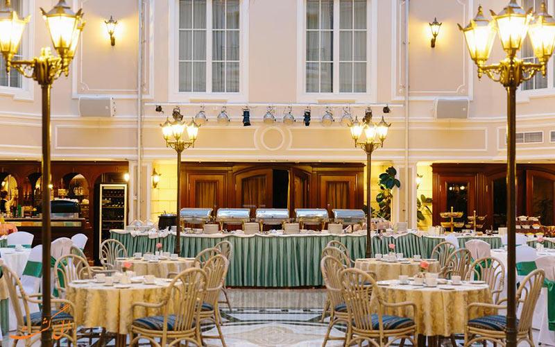هتل گرند امرالد سنت پترزبورگ | رستوران