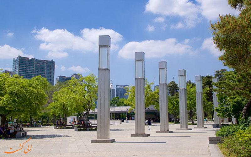 فضای بیرونی موزه ملی کره