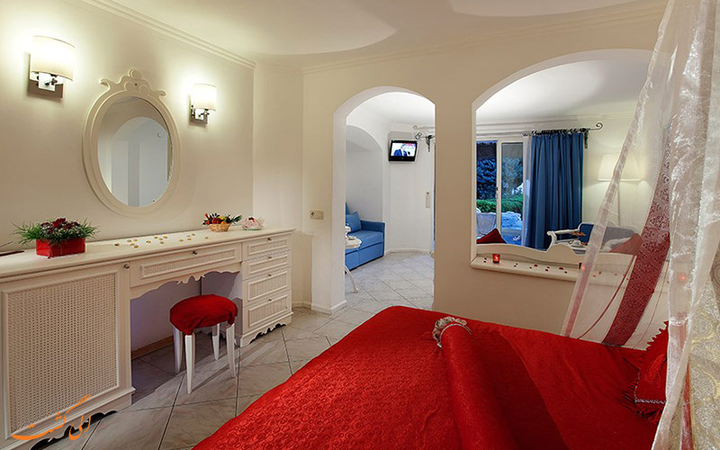 اتاقی در هتل رویال آسارلیک بیچ بدروم