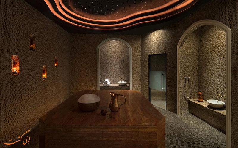 هتل کنراد دبی | حمام سنتی