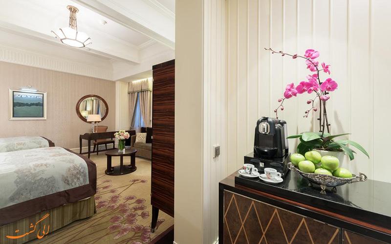 هتل فرمونت پیس شانگهای | نمونه سوئیت