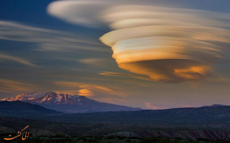 ابرهای لنزی شکل