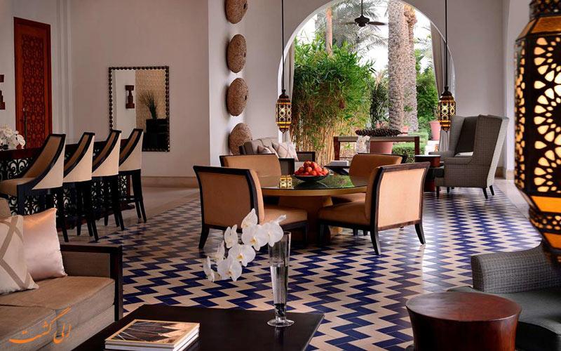 رستورانی در هتل پارک حیات دبی