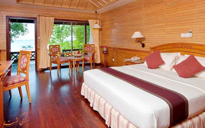 هتل رویال آیلند مالدیو | داخل ویلا