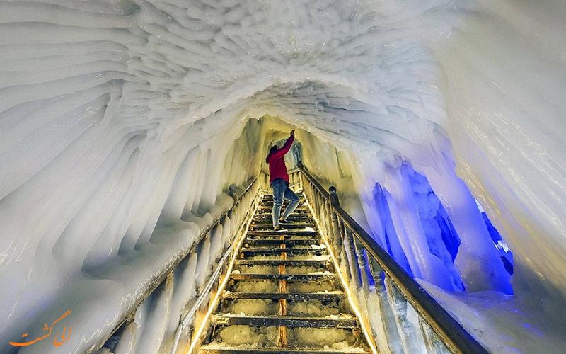 غار یخی
