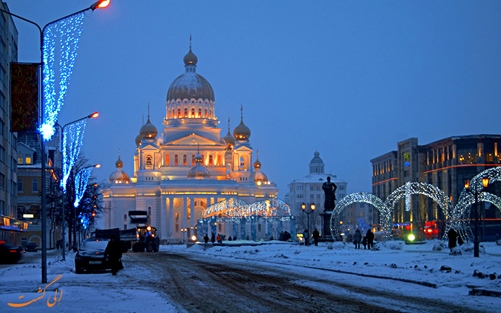 آب و هوای شهر سارانسک