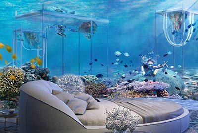هتل های زیردریایی جهان