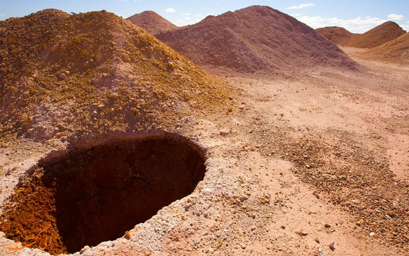 شهر زیرزمینی در استرالیا