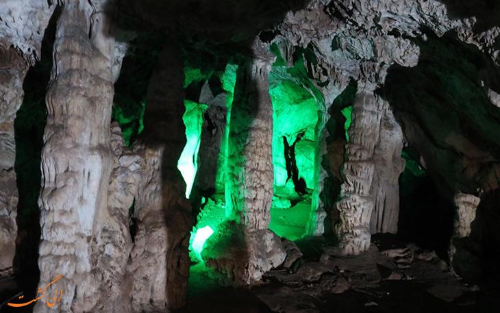 غار ناشناخته ده شیخ در یاسوج