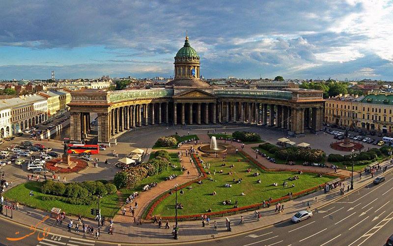 مختصری از تاریخچه ی شهر سنت پترزبورگ