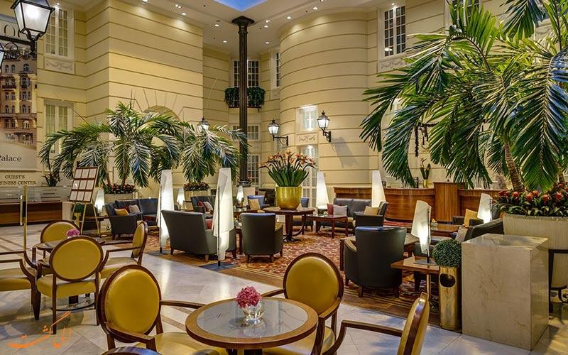 خدمات رفاهی هتل پولونیا پالاس ورشو- لابی و کافه آن