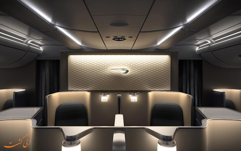 هواپیمای بوئینگ 787- 9 دریم لاینر بریتیش ایرویز