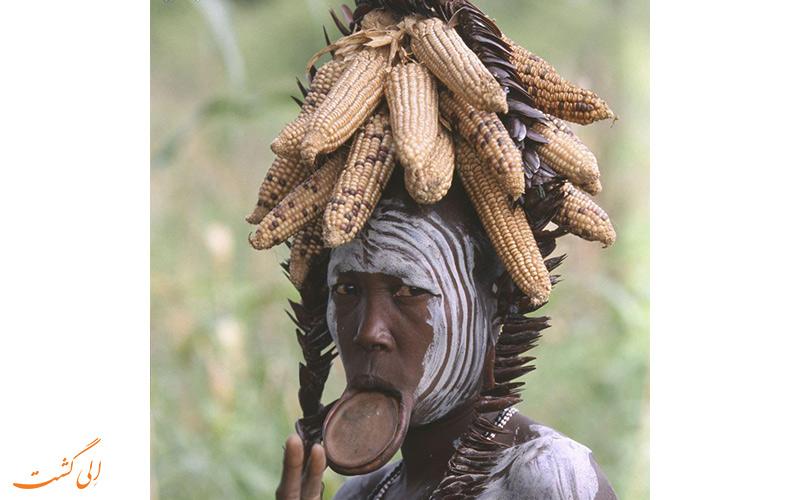قبیله آفریقایی اومو