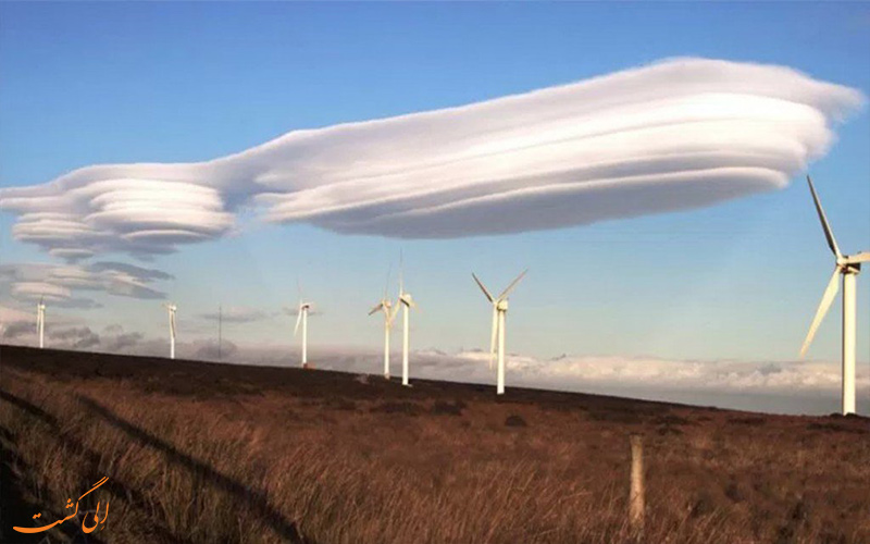 انواع ابرها- ابر ترکیبی- پیش بینی هوا در سفر