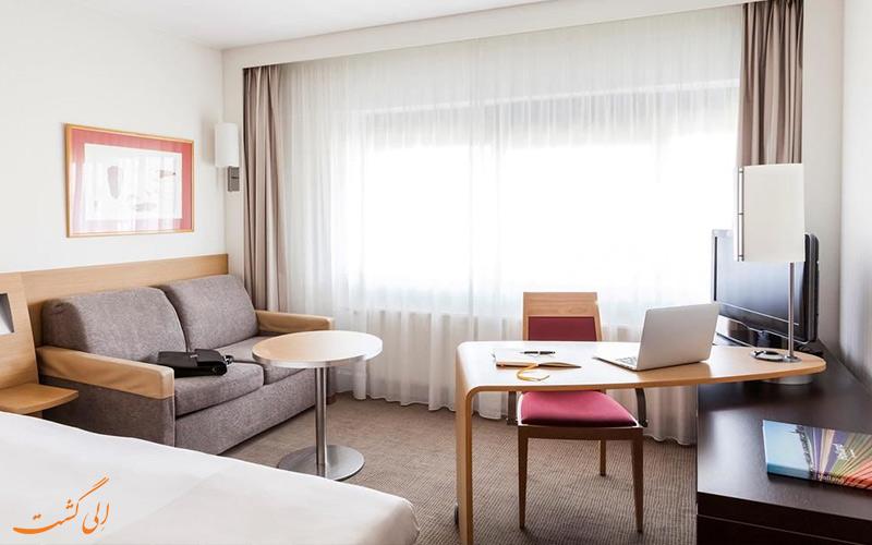 انواع اتاق های هتل نووتل آمستردام