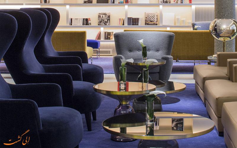 خدمات رفاهی هتل دو سورس پاریس- کتابخانه