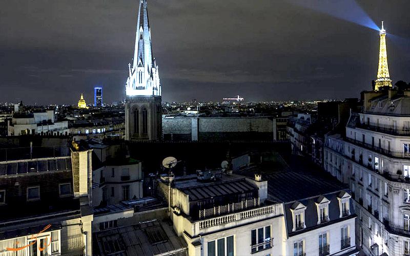 هتل دو سورس پاریس- نمای پنجره ها