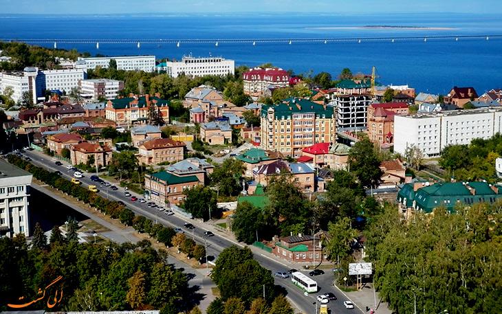 شهر اولیانوفسک در روسیه