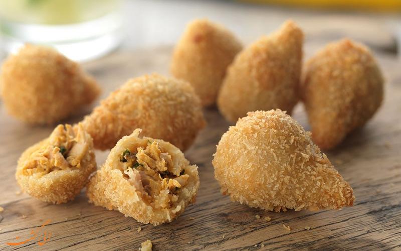 غذای Coxinha