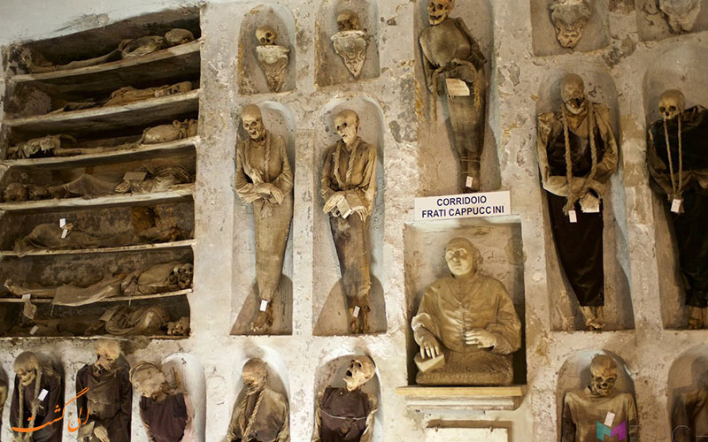 موزه کاتاکمب دی کپوچینی