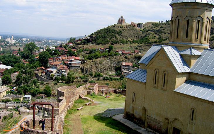 قلعه ناریکالا در تفلیس