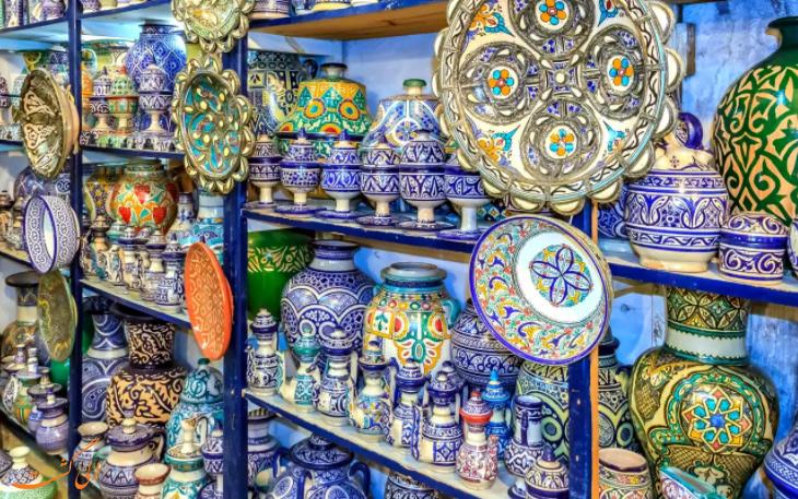 صنایع دستی مراکشی