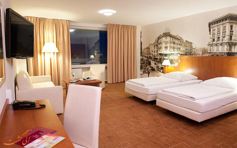 امکانات اتاق های هتل مرکیور ام الکساندرپلاتز برلین