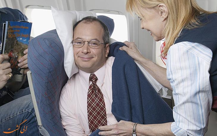 خدمات رفاهی هواپیما