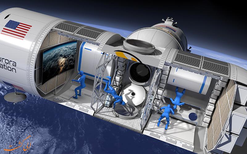 اولین هتل فضایی سفر به فضا