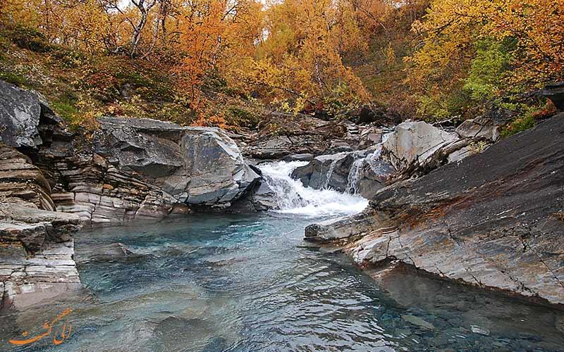 رودخانه های پارک ملی آبیسکو