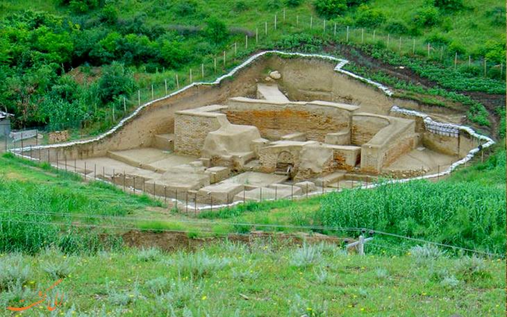 قلعه های اطراف دیوار دفاعی گرگان