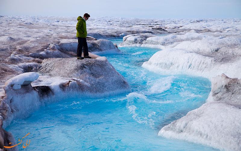 منطقه ای تاریک در گرینلند