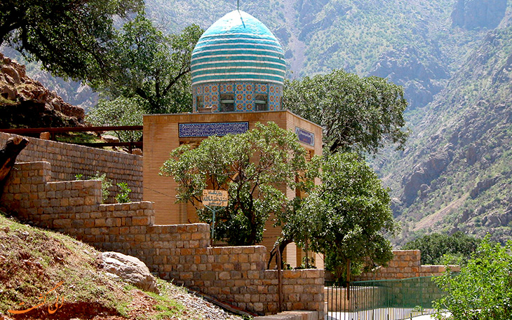 مسجد در روستای هجیج در کرمانشاه